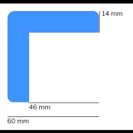 Støtfanger, modell 8 — 1 m