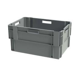 Euronorm stabelbar kasse, 400x600x300 mm