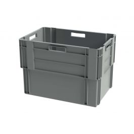 Euronorm stabelbar kasse, 400x600x420 mm