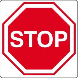 """Gulvpiktogram for """"Stopp"""""""
