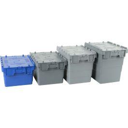Euronorm-kasser med lokk