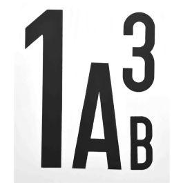 Magnetiske bokstaver og tall (per stykk)