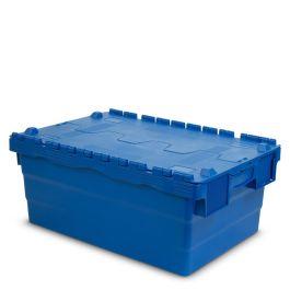 Oppbevaringskasse med lokk, 400x600x250 mm