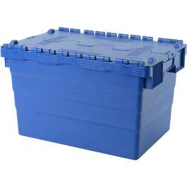 Oppbevaringskasse med lokk, 400x600x365 mm