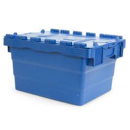 Oppbevaringskasse med lokk, 300x400x200 mm