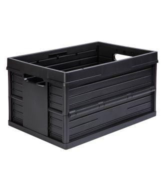 Evo Box sammenleggbar kasse - 46 liter, svart