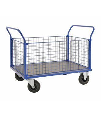 Kongamek mesh trolley, 500 kg capacity