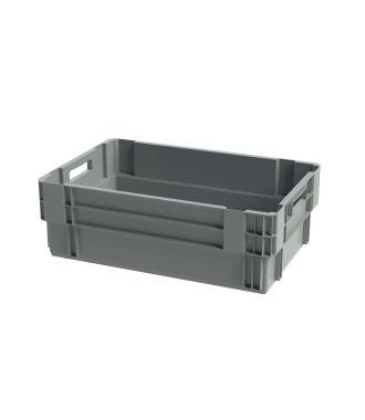 Euronorm stabelbar kasse, 400x600x200 mm