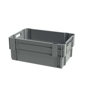 Euronorm stabelbar kasse, 400x600x250 mm