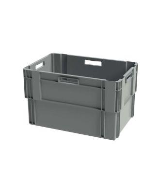 Euronorm stabelbar kasse, 400x600x360 mm