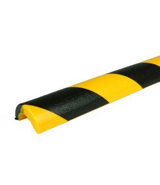 PRS-støtfanger for rør, modell 5 — gul/sort — 1 m