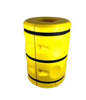 Stabelbar stolpebeskytter - 20x20 cm - 90 cm høy