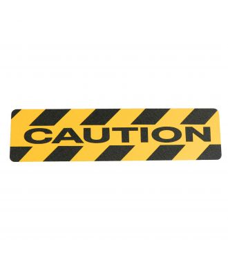 """Caution"" anti slip grip tape"