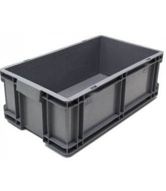 Oppbevaringskasse med rette vegger, 260x505x165 mm