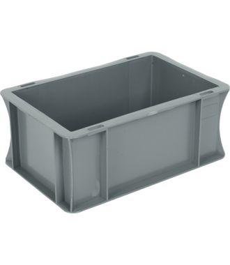 Oppbevaringskasse med rette vegger, Eurokasse 200x300x120 mm