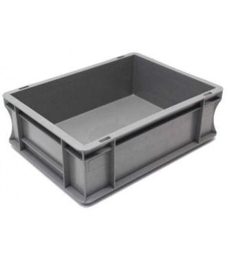 Oppbevaringskasse med rette vegger, Eurokasse 300x400x120 mm