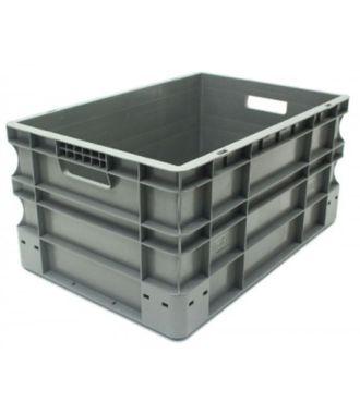 Oppbevaringskasse med rette vegger, Eurokasse 400x600x290 mm