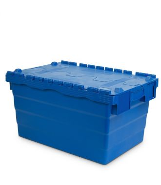 Oppbevaringskasse med lokk, 400x600x320 mm