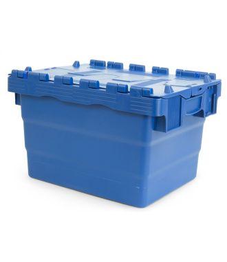 Oppbevaringskasse med lokk, 300x400x250 mm