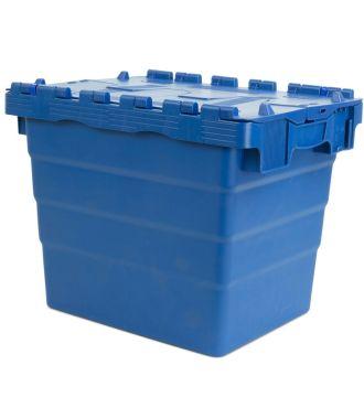 Oppbevaringskasse med lokk, 300x400x320 mm