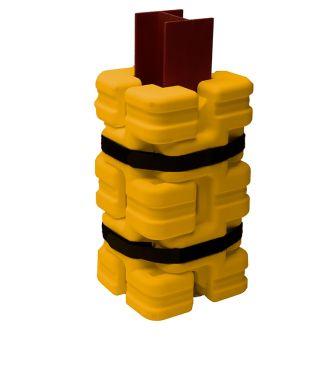 Column Sentry FIT, søylebeskyttelse av plast