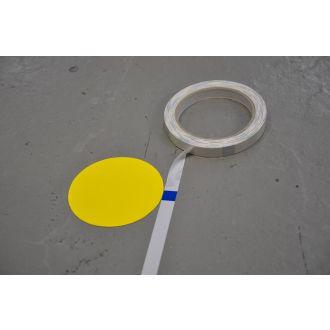 Målebånd for montering av gulvmerking
