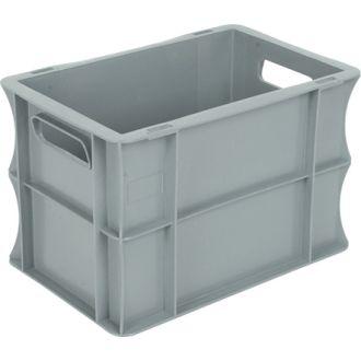 Oppbevaringskasse med rette vegger, Eurokasse 200x300x200 mm