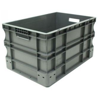 Oppbevaringskasse med rette vegger, Eurokasse 400x600x330 mm